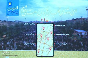 Fanoos Navigation App for Arbaeen Pilgrims Unveiled